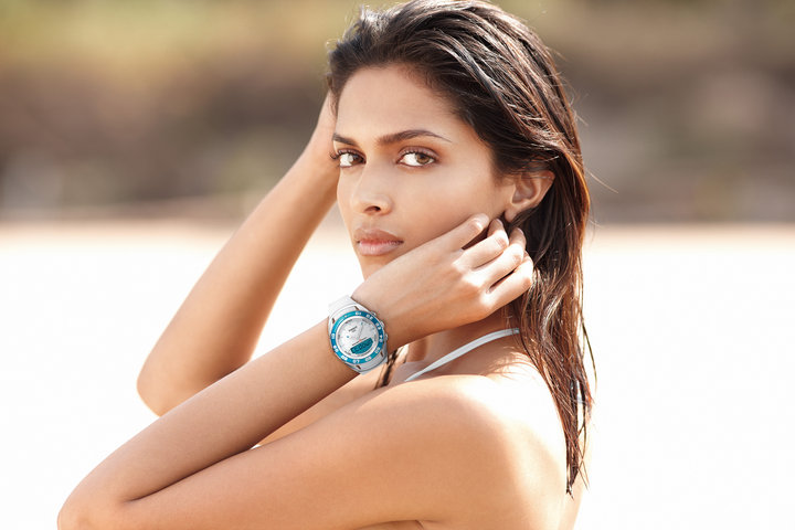 Deepika Padukon Tissot Sailing Touch Watch