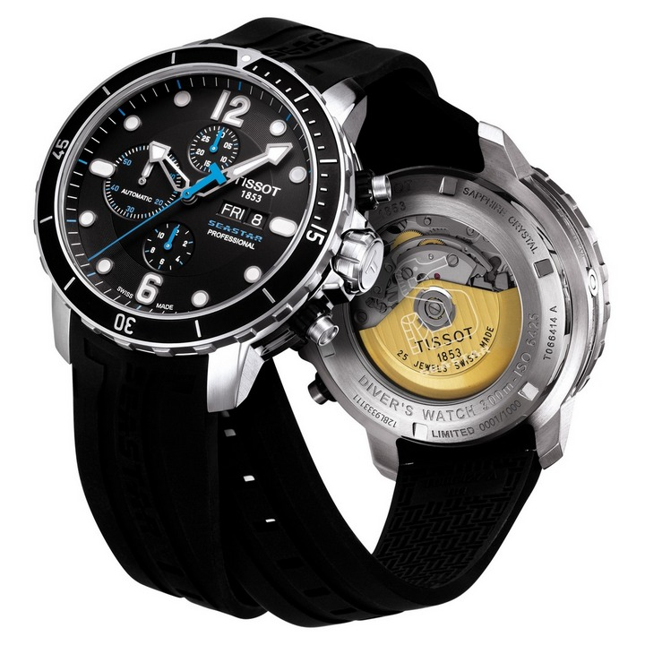 Tissot T-Sport SeaStar 1000 Professional Automatic Chronograph Limited Edition Watch