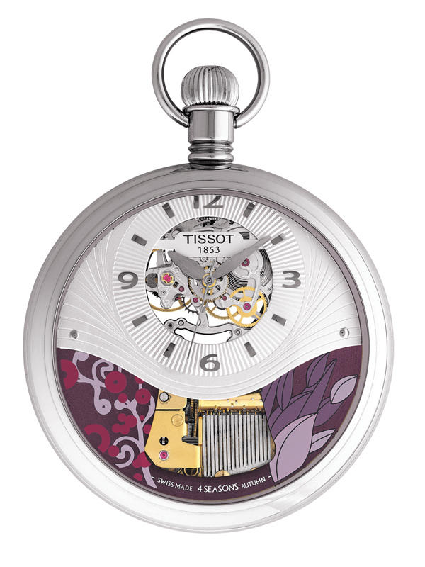 Tissot T-Pocket Musical Seasons Watch Autumn