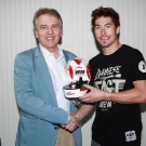 Francois Thiebaud and Nicky Hayden