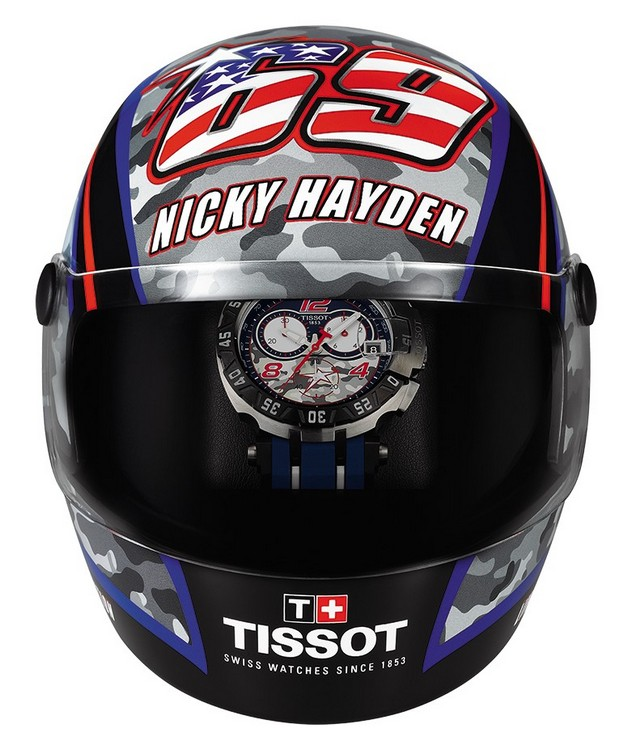 Tissot T-Race Quartz Nicky Hayden 2016 Watch Box