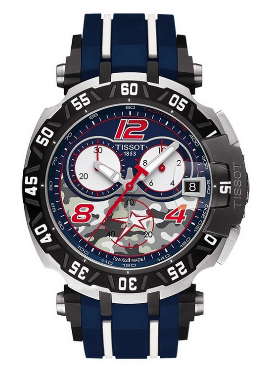 Tissot T-Race Quartz Nicky Hayden 2016 Watch Front