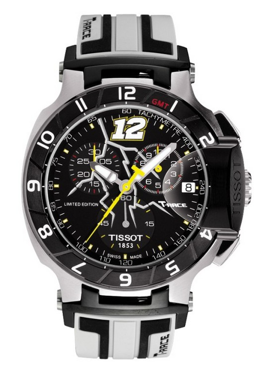 Tissot T-Race Thomas Lüthi Limited Edition 2013 Watch Front