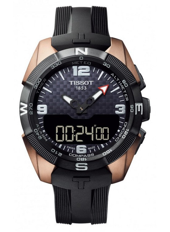 Tissot T-Touch Expert Solar NBA Special Edition Watch Front