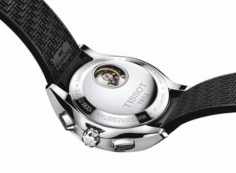 Tissot T-Sport Veloci-T Watch Caseback