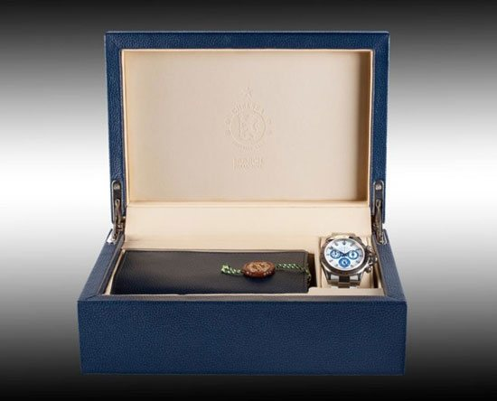 Titan Black Custom Chelsea FC Rolex Daytona Watch Box