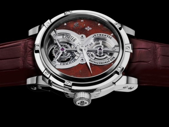 Louis Moinet Vertalis Red Stromatolite Watch