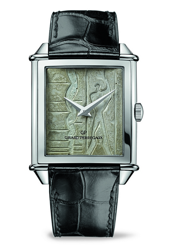 Girard-Perregaux Le Corbusier Marseille Watch Front