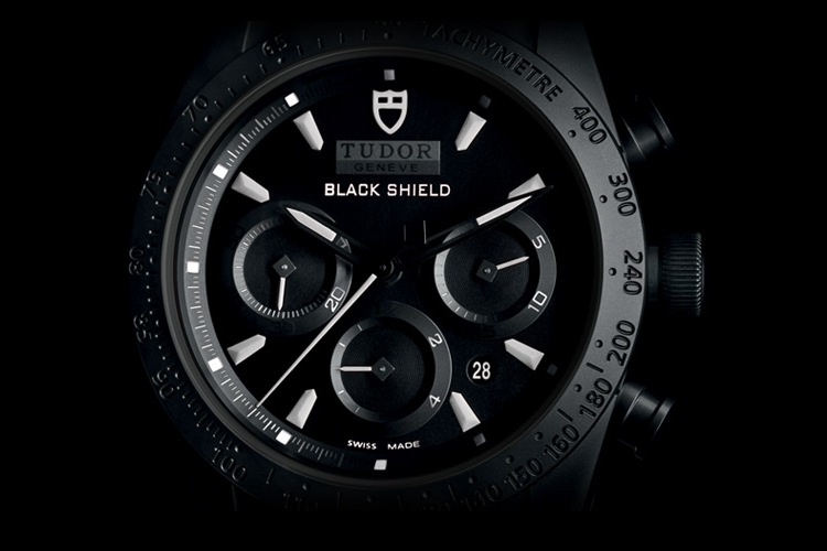 Tudor Fastrider Black Shield 42000CN Watch - Dial