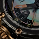 U-BOAT Chimera 43 B&B Mother of Pearl Watch Detail