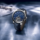 Ulysse Nardin Anchor Tourbillon Watch with Blue Enamel Dial