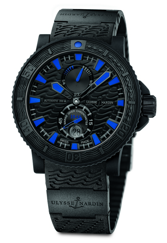 Ulysse Nardin Black Sea 2013 Watch Front