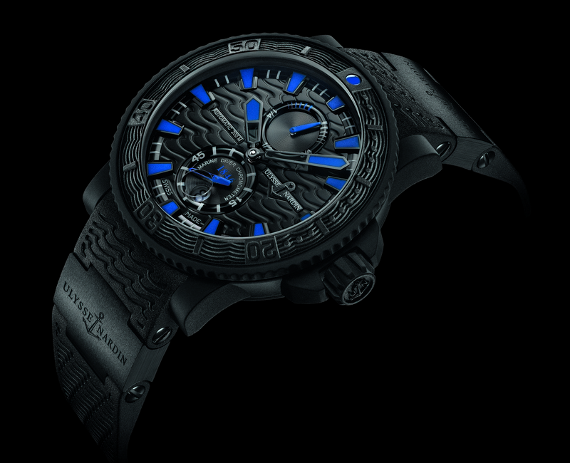 Ulysse Nardin Black Sea 2013 Watch Side