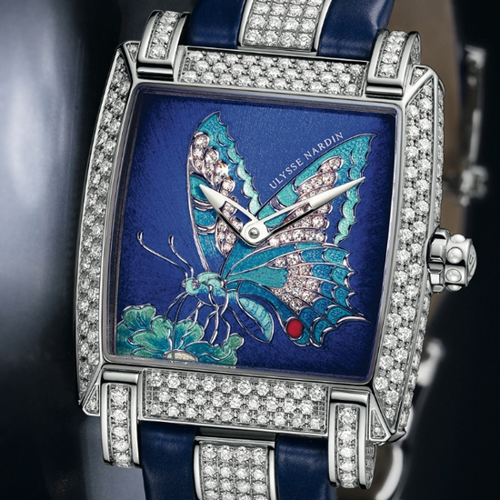 Ulysse Nardin Caprice Butterfly Limited Edition Watch Dial