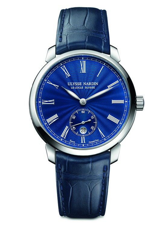 Ulysse Nardin Classico Manufacture Grand Feu Watch Front