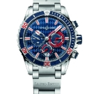 Ulysse Nardin Diver Chronograph Monaco Watch Front