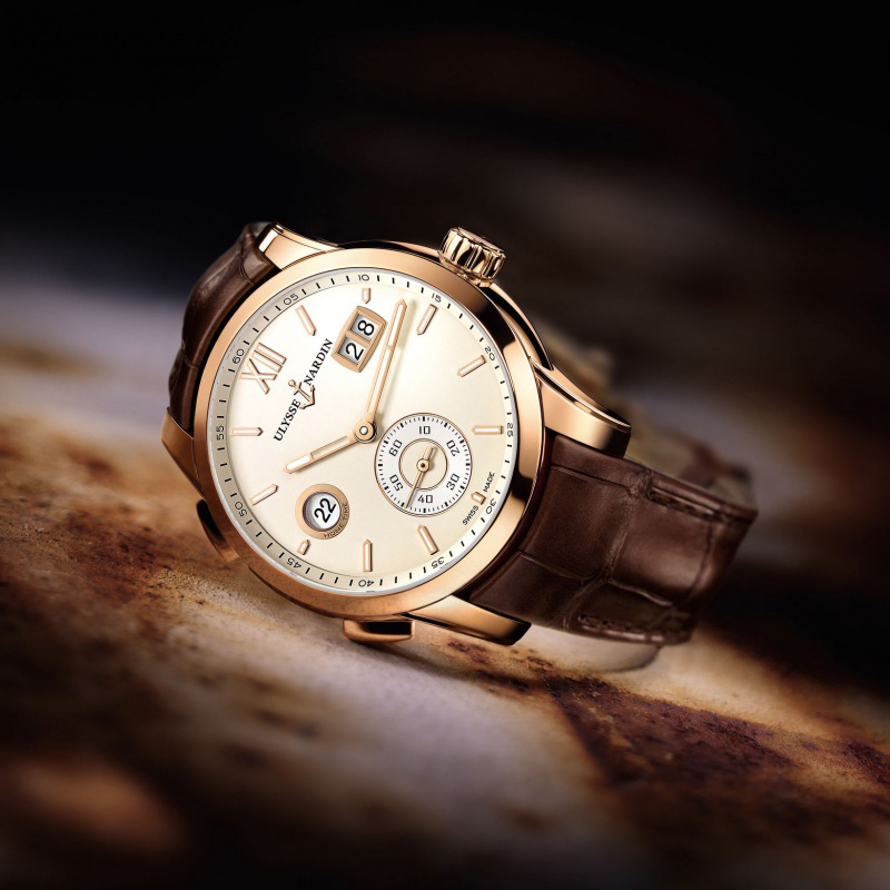 Ulysse Nardin Dual Time Manufacture 2015 Watch 3346-126_90