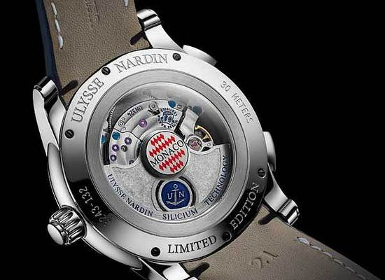 Ulysse Nardin Dual Time Manufacture Monaco 2015 Watch Case Back
