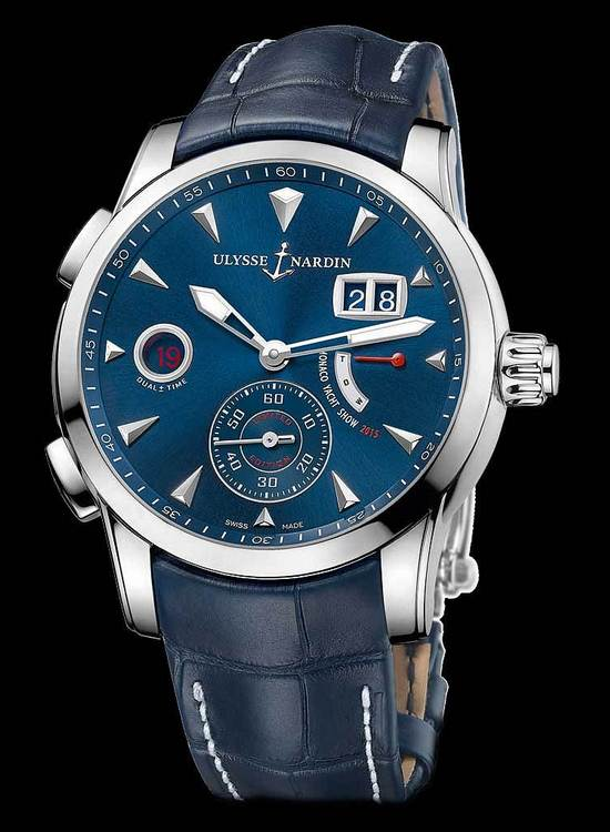 Ulysse Nardin Dual Time Manufacture Monaco 2015 Watch Front