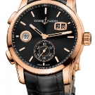 Ulysse Nardin Dual Time Manufacture Rose Gold Watch