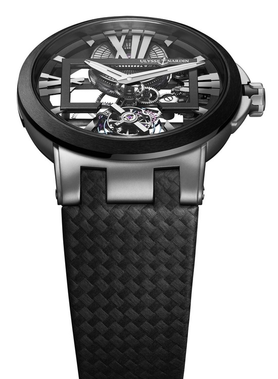 Ulysse Nardin Executive Skeleton Tourbillon Watch
