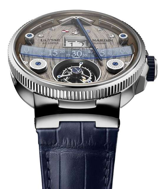Ulysse Nardin Grand Deck Marine Tourbillon Watch