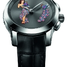 Ulysse Nardin Hourstriker Pin-Up Platinum Watch