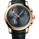 Ulysse Nardin Hourstriker Pin-Up Rose Gold Watch Front