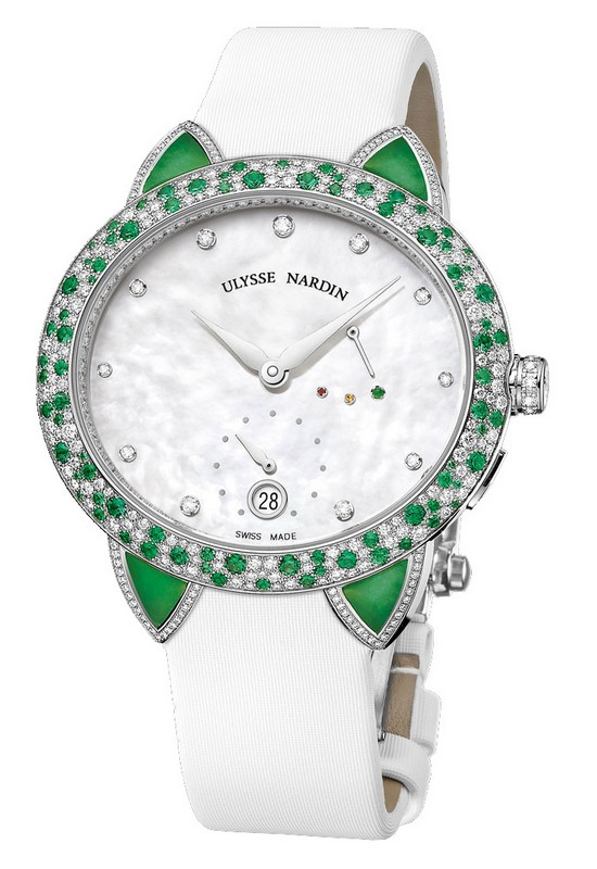 Ulysse Nardin Green Jade Watch