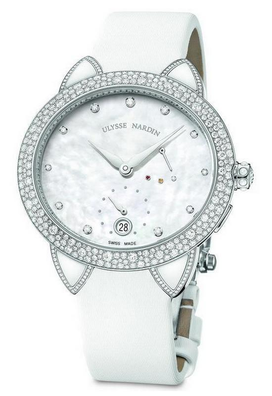 Ulysse Nardin Jade Watch White Gold