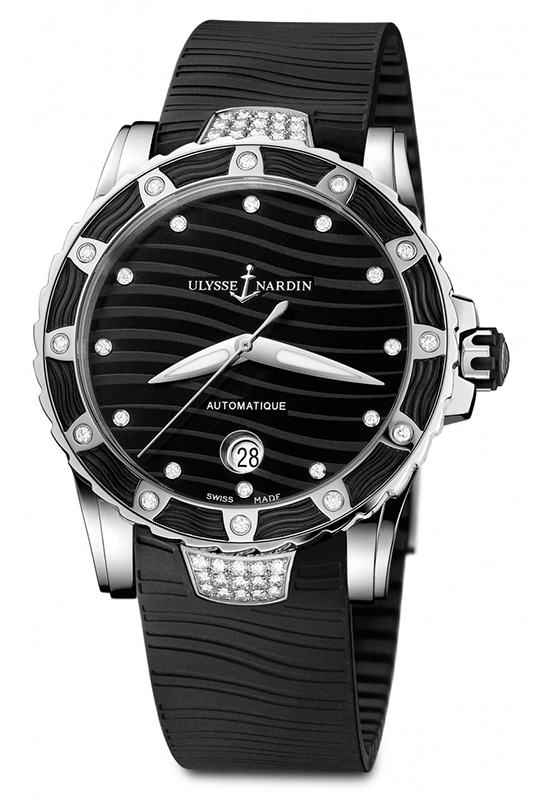 Ulysse Nardin Lady Diver Edition 2014 Black Dial Watch 8153-180E-3C-12