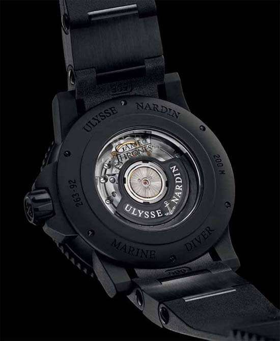 Ulysse Nardin Game of Thrones Watch Caseback