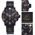 Ulysse Nardin Limited Edition Schooner Chronograph Watch Details