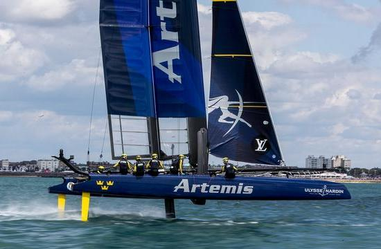 Artemis Racing Team in Portsmouth