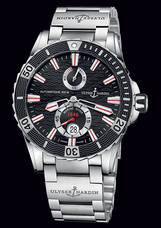 Ulysse Nardin Marine Diver Edition 2014 Watch 263-10-7M92