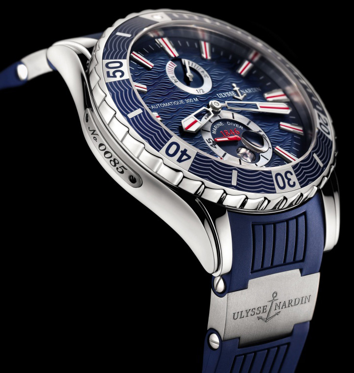 Ulysse Nardin Marine Diver Edition 2014 Watch Profile