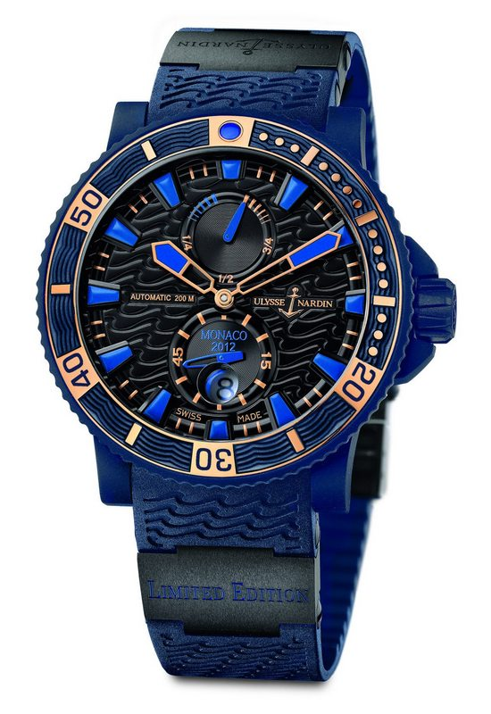 Ulysse Nardin Marine Diver Monaco Limited Edition Watch Front