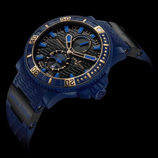 Ulysse Nardin Marine Diver Monaco Limited Edition Watch