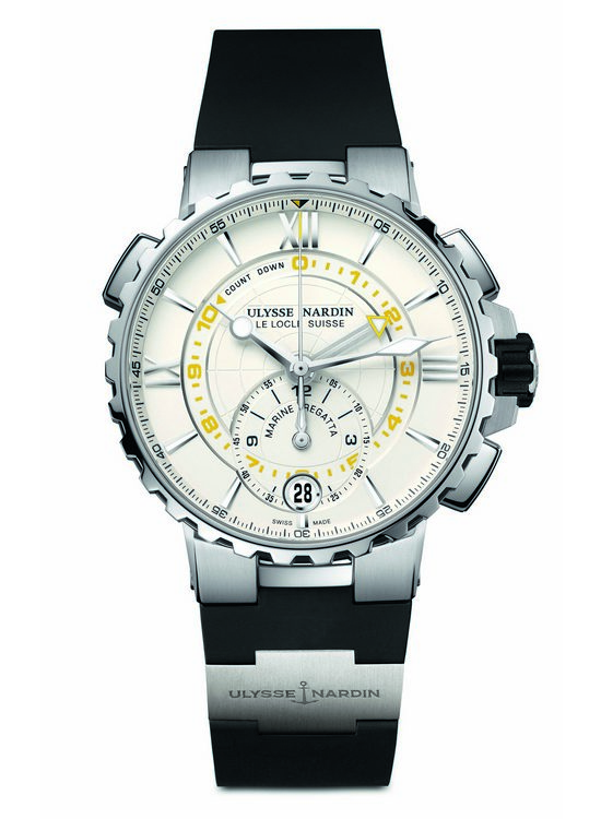 Ulysse Nardin Marine Regatta Chronograph Watch White