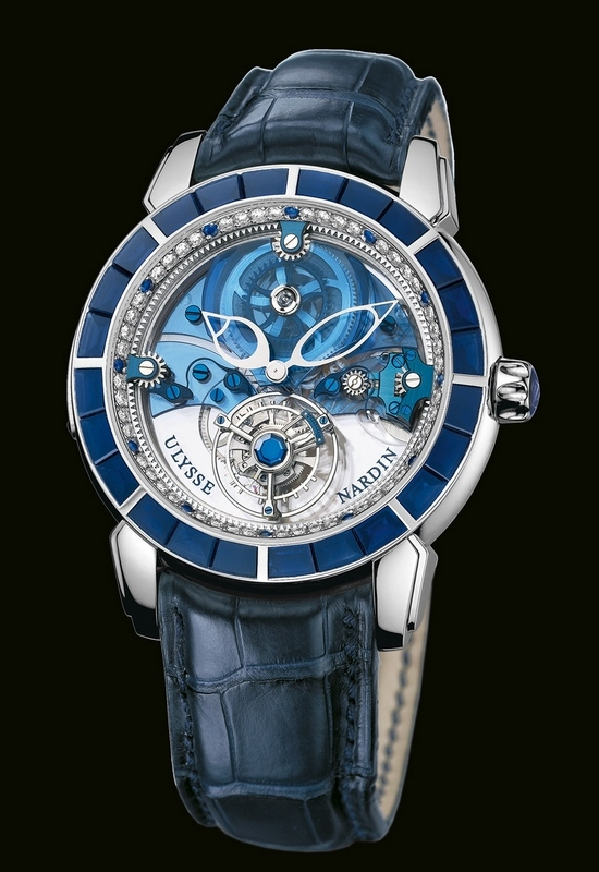 Ulysse Nardin Royal Blue Tourbillon Haute Joaillerie 799-90 Watch