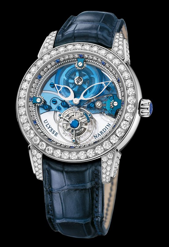 Ulysse Nardin Royal Blue Tourbillon Haute Joaillerie 799-93 Watch