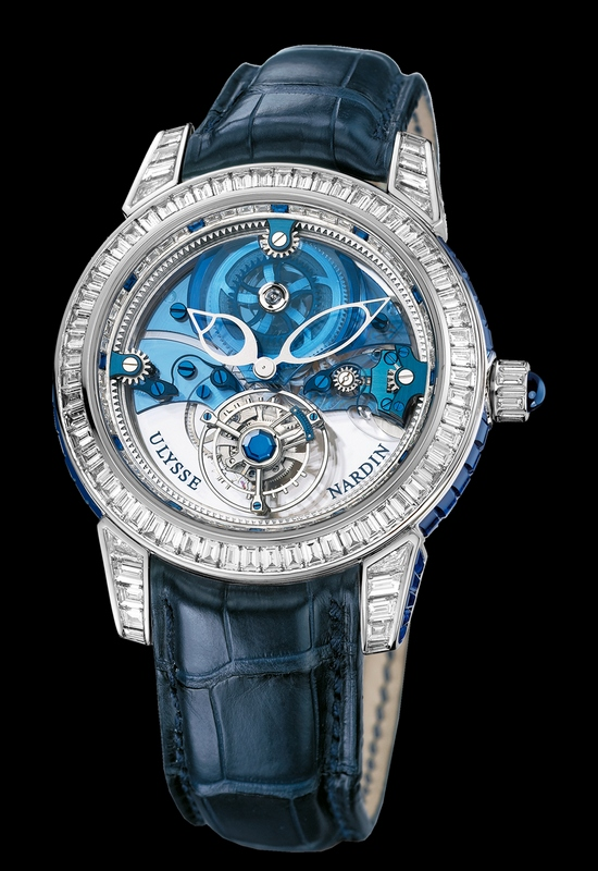 Ulysse Nardin Royal Blue Tourbillon Haute Joaillerie 799-99BAG Watch