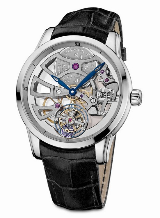 Ulysse Nardin Skeleton Tourbillon Manufacture Platinum Watch