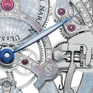 Ulysse Nardin Skeleton Tourbillon Pearl Watch Detail