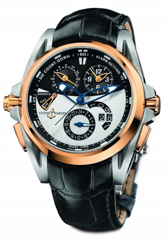 Ulysse Nardin Sonata Streamline Watch 675-01