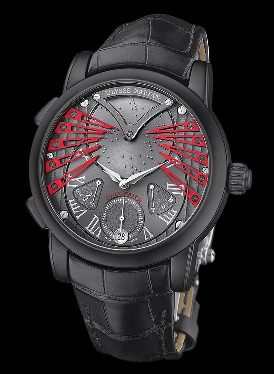 Ulysse Nardin Stranger 2015 Only Watch Front