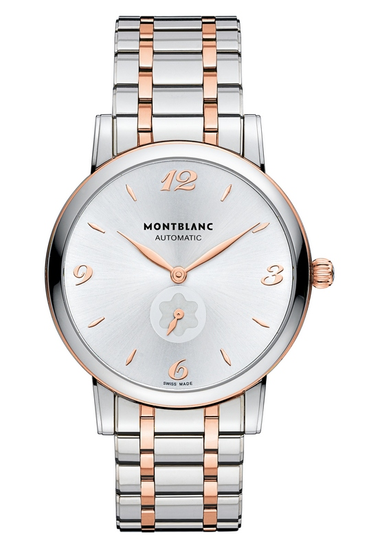 Montblanc Star Classique Automatic Steel-Gold Watch