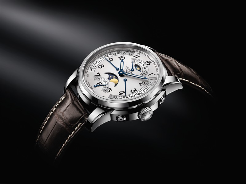Longines Saint-Imier Retrograde Moon Phase Watch