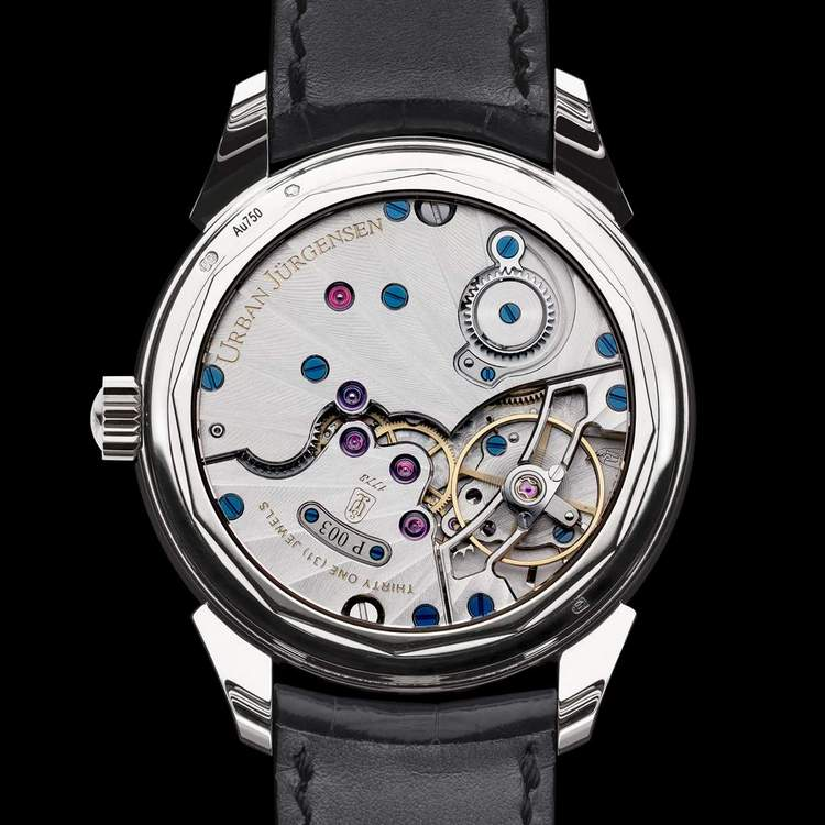 Urban Jürgensen Reference 2340 Watch Case Back