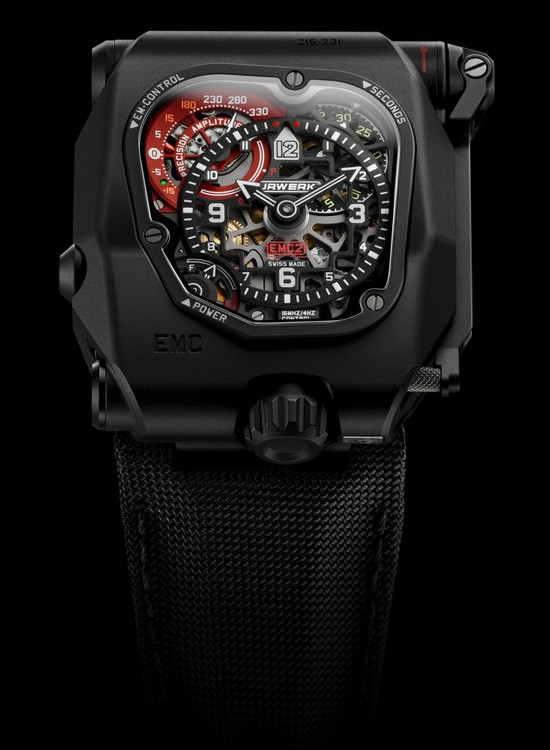Urwerk EMC TimeHunter X-Ray Watch